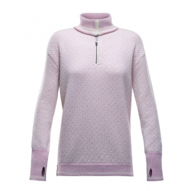 SLOGEN Woman ZIP Neck