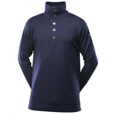 BLAATRØIE Sweater Button Neck