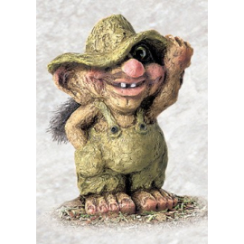 840264 Troll boy with hat