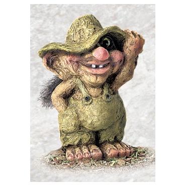 840264 Troll boy with hat