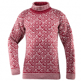 SVALBARD Sweater HIGH Neck Hindberry