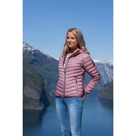 Ultra Light Down Jacket Lady Old Pink