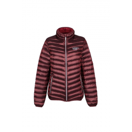 Ultra Light Down Jacket Lady wine