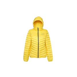 Ultra Light Down Jacket Lady Light Yellow