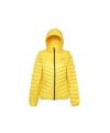 Ultra Light Down Jacket Lady Light Yellow