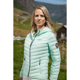 Ultra Light Down Jacket Lady Mint