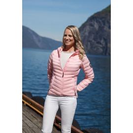Ultra Light Down Jacket Lady Light Pink