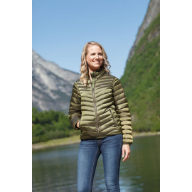 Ultra Light Down Jacket Lady deep green