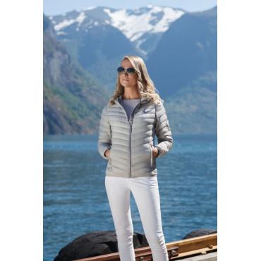 Ultra Light Down Jacket Lady Grey