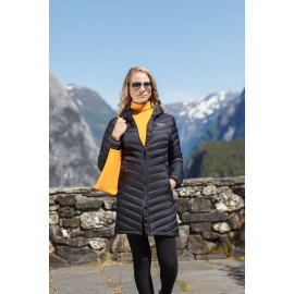 Ultra Light Down Coat Lady Black