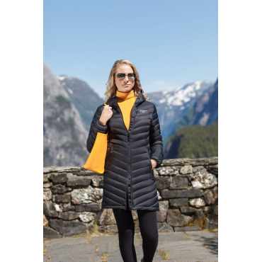 Ultra Light Down Coat Lady Black