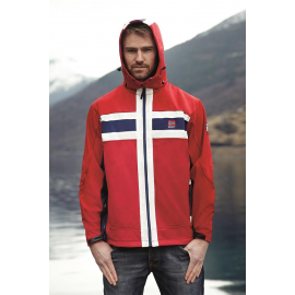 Softshell Jacket Flag Unisex