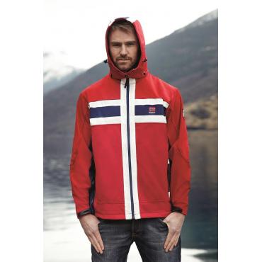 Softshell Jacket Flag Unisex