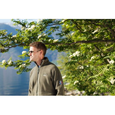 Fleece Jacket Olive Green