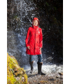 Rain Coat Lady Red