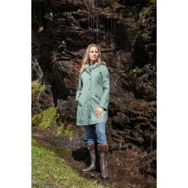 Rain Coat Lady Green