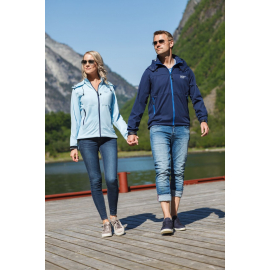 Shell Jacket Lady Light Blue