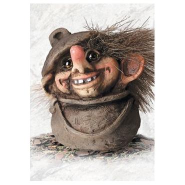 840054 Troll in a cauldron