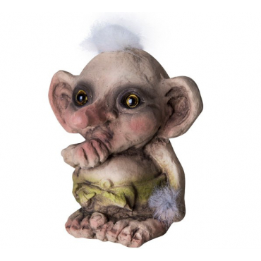 840075 Baby troll sucking thumb