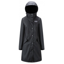 Rain Coat Lady Black