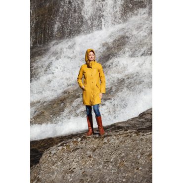 Rain Coat Lady Yellow