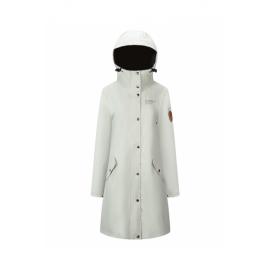 Rain Coat Lady White
