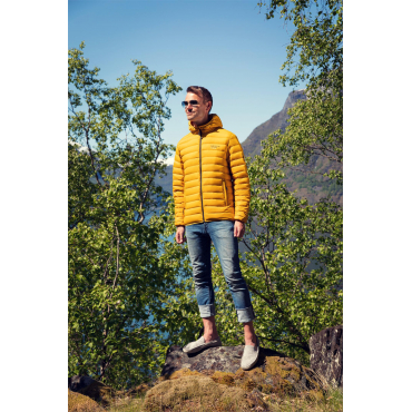 Ultra Light Down Jacket Yellow Unisex