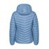 Ultra Light Down Jacket w/hood, Steel Blue