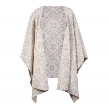 Rose shawl