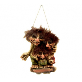 840089 Troll family wall sign
