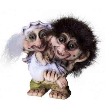 840094 Troll wedding couple